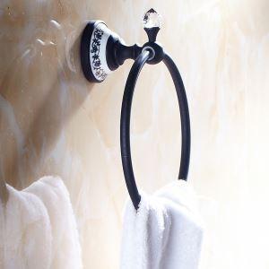 (Entrepôt UE) Vintage accessoires de salle ORB Anneau de serviette