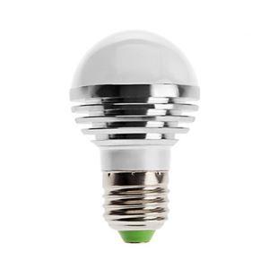 (Entrepôt UE) E27 ampoule LED 3W 240lm Angle de faisceau 180 ° SMD 5050 AC85-265V Argent Globe Ampoule Led