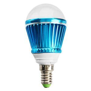 (Entrepôt UE) E14 Ampoule LED 3W Lumière 240lm Angle de faisceau 180 ° SMD 5050 AC85-265V Red / Blue Led Bulb Globe