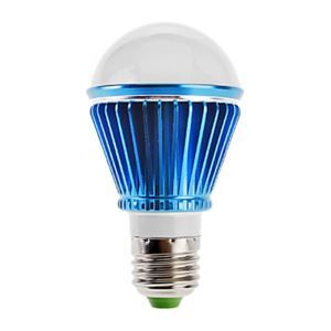 (Entrepôt UE) E27 Ampoule LED 3W Lumière 240lm Angle de faisceau 180 ° SMD 5050 AC85-265V Bleu Led ampoule Globe
