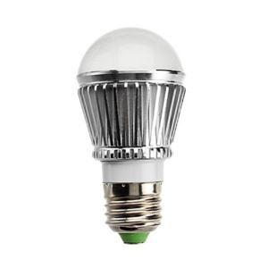 (Entrepôt UE) E27 Ampoule LED 3W Lumière 240lm Angle de faisceau 180 ° SMD 5050 AC85-265V Argent Globe Ampoule Led