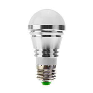 (Entrepôt UE) E27 Ampoule LED 5W Lumière 400lm Angle de faisceau 180 ° SMD 5050 AC85-265V Argent Globe Ampoule Led