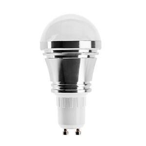 (Entrepôt UE) GU10 Ampoule LED 5W Lumière 400lm Angle de faisceau 180 ° SMD 5050 AC85-265V Argent Globe Ampoule Led