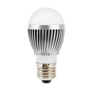 (Entrepôt UE) E27 Ampoule LED 5W Lumière 560lm Angle de faisceau 180 ° SMD 5050 AC85-265V Argent Globe Ampoule Led