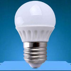 (Entrepôt UE) e27 LED 3W 270lm Céramique WW / NW 2800-6500k AC85-265V LED Globe Ampoules