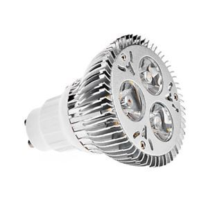 GU10LED PAR Silver Light Couleur 3 * 2W 360lm 25-120 ° WW300K-3500K / NW4500K / CW6000-6500KAC85-256V