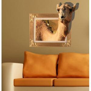 Art Wall Paper 3D Camel revêtements muraux PVC lavables mur