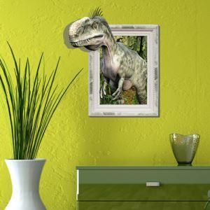 Wall Paper 3D Dinosaur revêtements muraux PVC lavables mur art