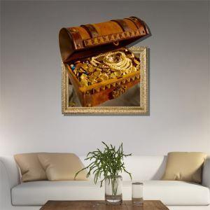 Art mural Papier 3D trésor revêtements muraux PVC sticker  lavables mural
