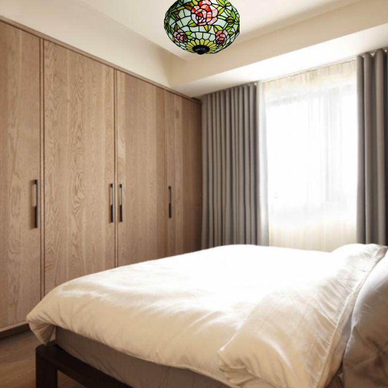 Chambre a coucher tiffany 064643 la for Plafonnier chambre a coucher