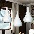 Afficher les détails pour (Entrepôt UE) 18w moderne Lustre LED Lumière Goutte Forme Restauration lumière chambre AC85-265v