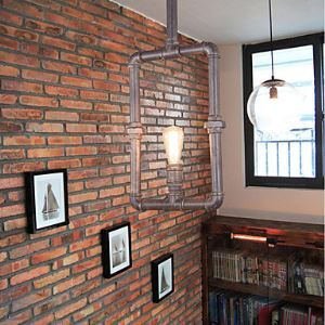 Lampes Suspendues grenier / tuyau industrielle / rustique / loge / Cocktail/ rétro / vie à la campagne / salle à manger / entrée / jeu