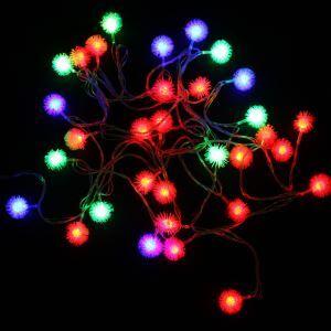 Arbre de Noël LED Décoration flocon de neige légère