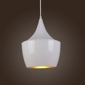(Entrepôt UE) lumière pendentif lustre vintage rétro lampe blanche luminaire cuisine