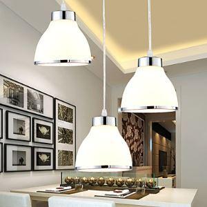 (Entrepôt UE) Lustre Suspendue LED moderne / contemporain salon / chambre / Métal Salle à manger