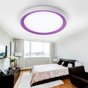 (Entrepôt UE) (En Stock) Moderne Mode simple LED acrylique encastrée Lumière lampe de plafond plafonnier Salon Chambre Salle d'étude Salle à manger