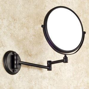 (Entrepôt UE) Salle de bain Antique européen Cuivre Accessoires ORB miroir de maquillage
