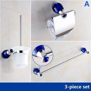 Européen Style Bleu CristalSalle de bain Accessoires