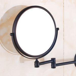 européen Antique accessoires de salle de Cuivre ORB Miroir de Maquillage