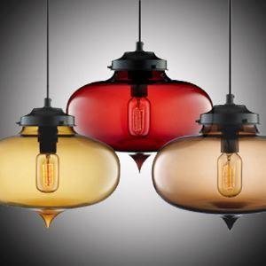 (Entrepôt UE) Lustre Moderne en verre transparent pendentif lampe en conception de bulle