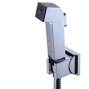 Douche à main bidet pulvérisation blanc sans offre tuyau et support de douche