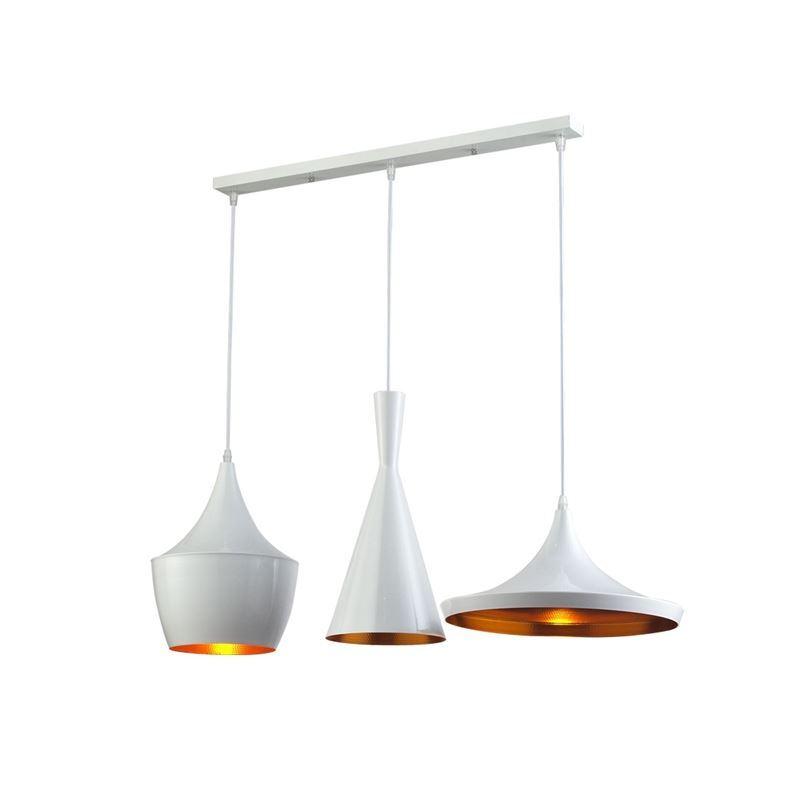 Lustre Plafonnier à 3 lampes Suspensions style industriel en ...