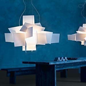 (Entrepôt UE) Lustres Blanc-Explosion suspension design Acrylique luminaire cuisine salon salle pas cher