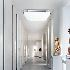 Afficher les détails pour (Entrepôt UE) Moderne Plafonnier LED installation intégrée Lampe Aluminum Acrylique Placage