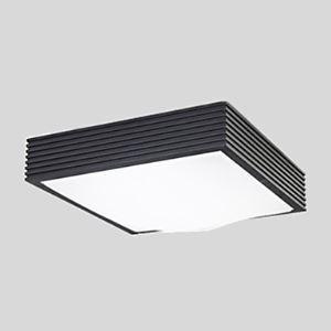 (Entrepôt UE) Plafonnier carré Noir installation intégrée Ampoules LED 16W 220V Lampe Blanche Simple Moderne