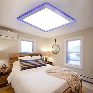 (Entrepôt UE) (En Stock) Plafonnier installation intégrée LED Moderne/Contemporain Salle/Chambre à coucher/Cuisine/Salle de bain/Chambre d'étude/Bureau/Chambre d'enfant/Garage Métal