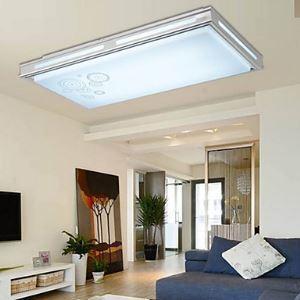 (Entrepôt UE) Plafonnier installation intégrée LED Moderne/Contemporain Salle/Chambre à coucher/Salle à manger/Chambre d'étude/Bureau Métal