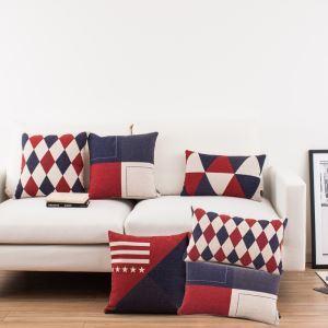 Taie d'oreiller 6 modèles géométrique moderne pour canapé sofa