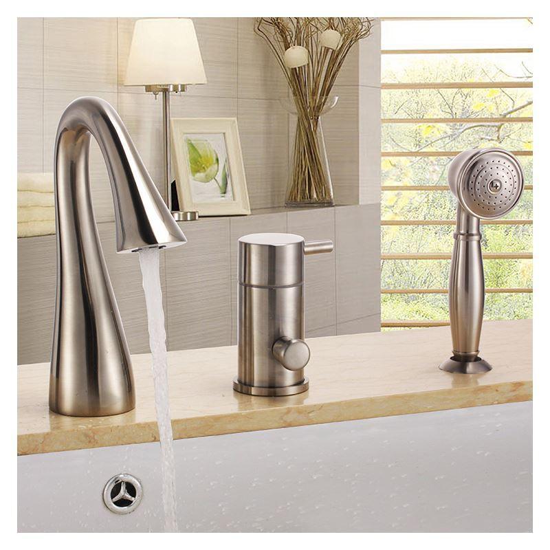 robinet de baignoire avec douchette pour salle de bain. Black Bedroom Furniture Sets. Home Design Ideas