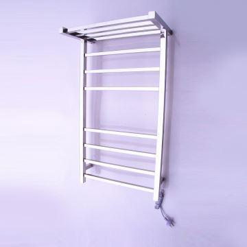 bain s che serviettes support de porte serviettes chauffage electrique 65w thermostatique. Black Bedroom Furniture Sets. Home Design Ideas