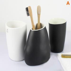 (Entrepôt UE) Moderne Simple Céramique Résine Kit de Lavage Accessoires de Salle de Bain 3 Pièces ensemble