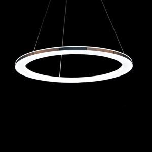 Suspension LED Acrylique D 40 cm pour salle à manger salon