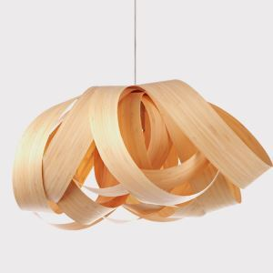 (Entrepôt UE) (En Stock)Lustre suspension Style Américain Rustique Sallon Chambre à coucher Cuir de bois naturel lampe en forme de fleur luminaire cuisine