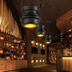 Industriel Rétro Salon Chambre à coucher Salle à manger 1 tête peinture d'éclairage projecteur