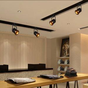 Spot à 1 lampe peinture pôle d'éclairage projecteur Industriel Rétro Salon Salle à manger