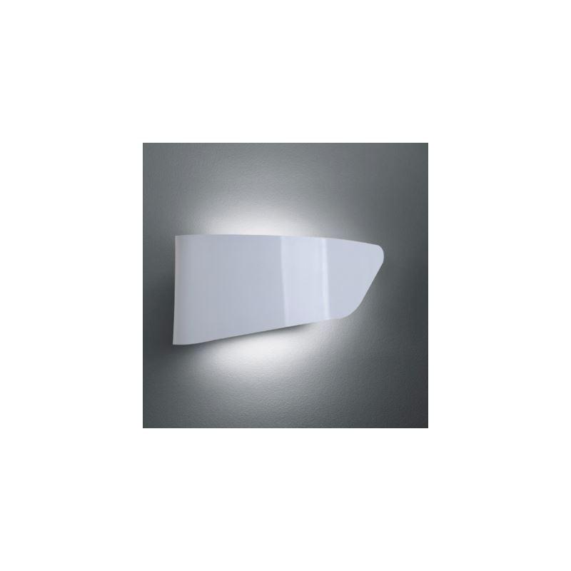 Entrepôt Ue Lampe Murale Blanc Finition En Métal Plate Moderne