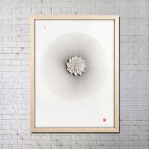 Art contemporain Peinture numérique abstraite de pulvérisation sans cadre tendu