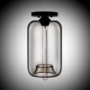 Plafonnier boule en verre H34.5cm bulle moderne ambre pour chambre restaurant
