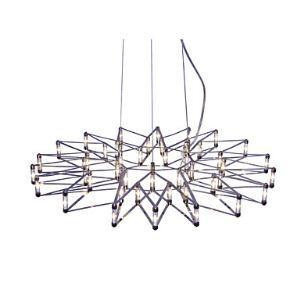 (Entrepôt UE) Moderne/Contemporain LED Acier inoxydable Pendentif Lampes Lustre Salle / Salle à manger / Salle d'étude/Bureau