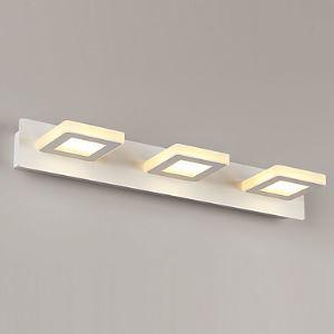 (Entrepôt UE) 9W LED Salle de bain Lampe,Moderne/Contemporain LED Métal intégré