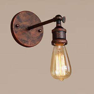 (Entrepôt UE) Applique murale 1 ampoule offerte en gratuit rétro industriel style rustique lampe murale restaurant café bar