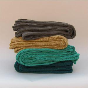 (Entrepôt UE) Couverture en tricot Decorative couverture serviette châle loisirs laine couverture