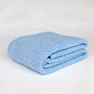 (Entrepôt UE) Couverture en tricot Air conditionné couvertures Chenille Decorative bureau de couverture acrylique COUVERTURE