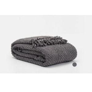 (Entrepôt UE) Acrylique polyester loisirs canapé Couverture décoratif antenne Couverture Épaississement pour l'automne et l'hiver
