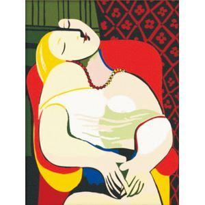 Style abstrait DIY peinture à l'huile peinte à la main Rêve de Picasso peinture décorative 30*40