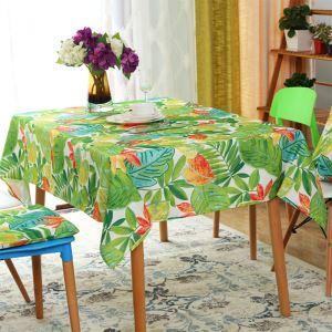 Encaustique américaine Vertrurale imperméable ronde table carrée nappe de table basse occidentale